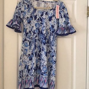 Lilly Pulitzer blue & white dress